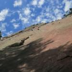 climbing the First Flatiron