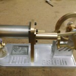 the Stirling Engine running